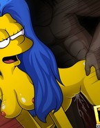 Decent and cute Marge Simpson savors watching fuck clips and that made her start craving for well-hung lovers, hard fuck actions and lots of climax
