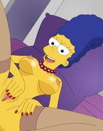 The Simpsons go wild