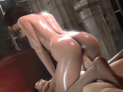 ashley and ganados resident evil porn