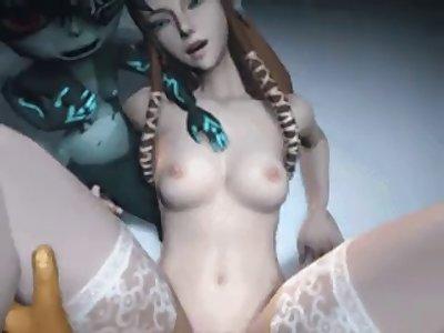 zelda and link hentai