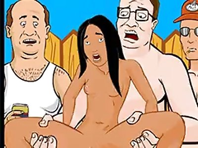 King of the Hill Anal outdoors