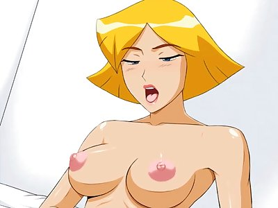 totally spies porn cartoon sex