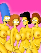 Flintstones and Simpsons in porn