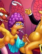 The Simpsons dudes teaming ladies
