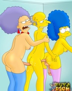 Marge Simpson and her sisters are shemale sex junkies looking for ass