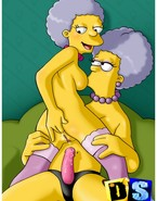 Hot babes from The Simpsons