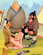 Mulan main Heroes in Great Porn Action