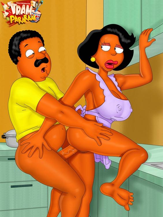 Ebony sex toons