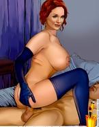 Busty Christina Hendricks