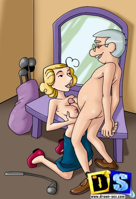 Crazy porn toons