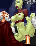 Female villains of Star Wars punished sexually