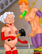 Sheer femdom porn insanity with bossy and merciless older babes from TinTin