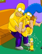 Homer and Marge Simpson both love being sexually tortured