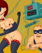 The Incredible destroying each other's genitalia as tribute to anything-goes BDSM porn