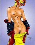 Super power girls show hot bodies