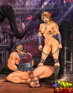Femdom fatality show from Mortal Kombat
