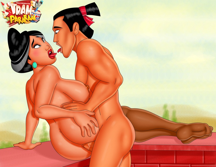 Mulan Yao Gay Pornos Cartoon
