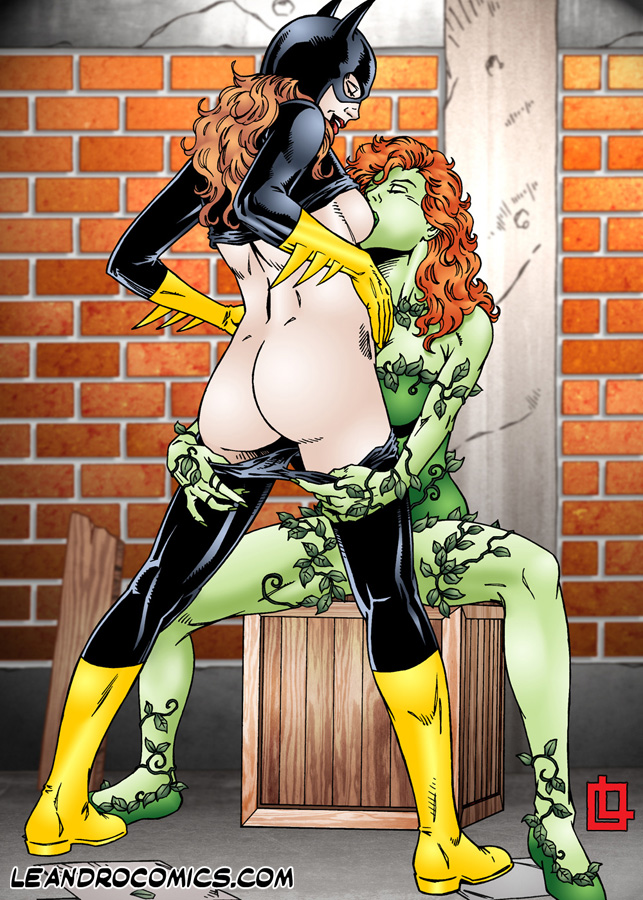 hentai poison ivy Batgirl and