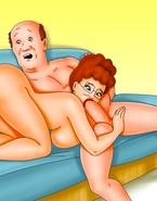 Horny MILF Peggy Hill gives great head