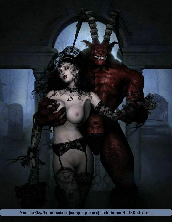 Секс Ведьм С Сатоной Фото В Картинках