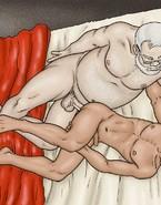 cartoon sex
