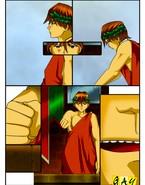 Surrendered gladiator gets his ass destroyed
