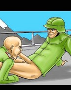 Tough ass-fucking for tough army men