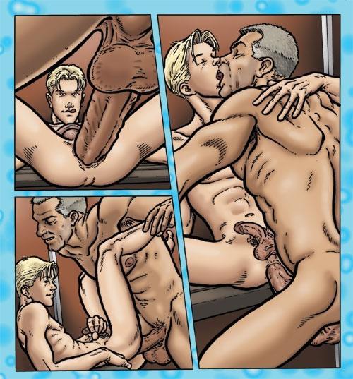 Гей Порно Комикс Большинство Недолюбливаю