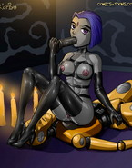 Teen Titans masturbating & getting FUCK