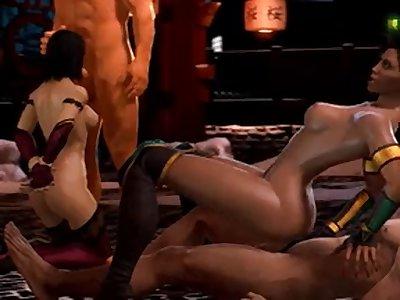 mortal kombat hentai millena