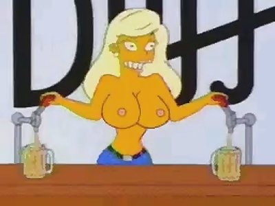 simpsons cartoon sex clips