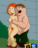 Lois Griffin serviced by Peter