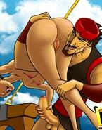 Cartoon pirates enjoying unleashed sex