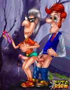 Jimmy Neutron's horny dad hunting trannies
