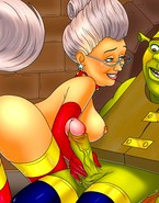 Godmother from Shrek loves painfully big cocks