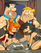 Flintstones take on a scary BDSM twist