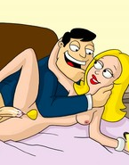 American Dad drills his wifey