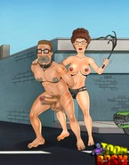 Peggy Hill pegging her man