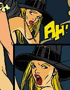 Vaginal interrogation of a witch