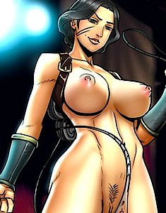 The mouthwatering bodies of sweethearts from Legend of Korra come nude