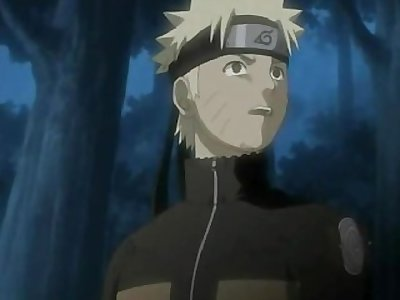 Naruto fucking Sakura in this scene and cover her face with lots of cum