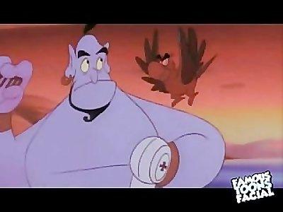 Disney Porn: Alladin Fuck Jasmine