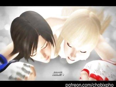 Tekken Asuka and Lili Threesome (Preview)