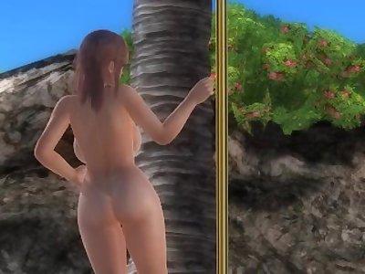 Dead or Alive 5 1.09 & Mods on PC - Honoka Pole Dancing