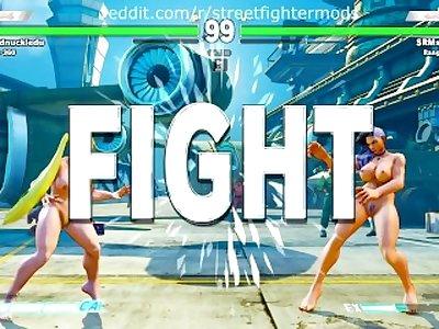 LAURA pelada STREET FIGHTER V