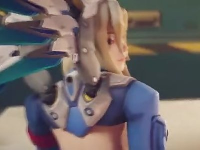 Overwatch Mercy Anal