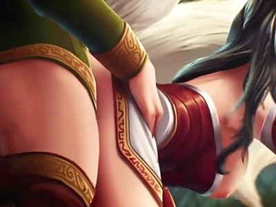 Ahri ? Felisyor by Washa