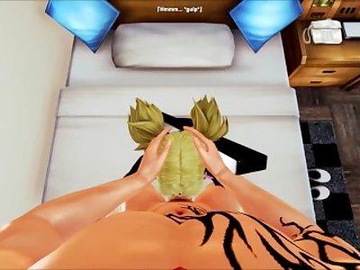 Pov vanilla with Temari (Honey Select: Naruto)