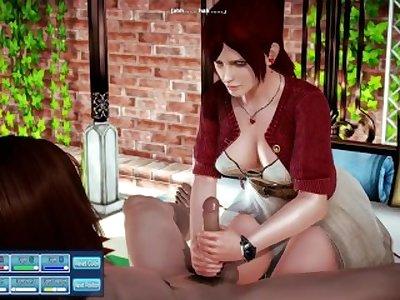 Claire Redfield Sex Scene