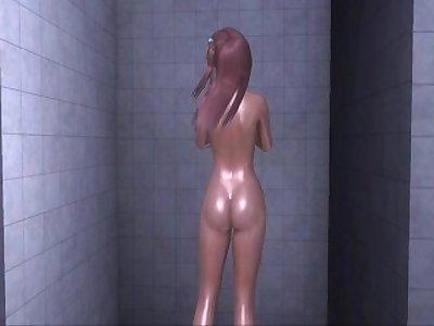 Dead or Alive Xtreme 3 PC - Shower Scene Nude Honoka